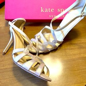Kate Spade rose gold heels 8.5 NEW in box❤️